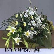 清明节鲜花,节哀