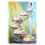 婚礼蛋糕,花开并蒂