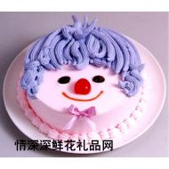 艺术蛋糕,小天使(8寸)