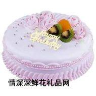 艺术蛋糕,雪国梦幻
