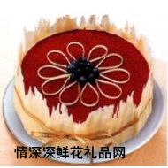 香港蛋糕,爱的心意