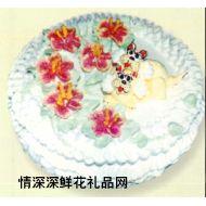 卡通蛋糕,心有所�伲�12寸)