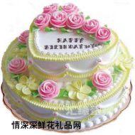 生日蛋糕,生日情缘