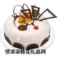 鲜奶蛋糕,点点星空
