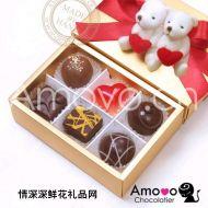 精美巧克力,Amovo巧克力 B2106