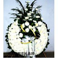 哀思鲜花,葬礼花圈5