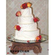 婚礼蛋糕,永浴爱河