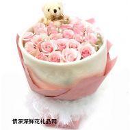 生日鲜花,幸福永远