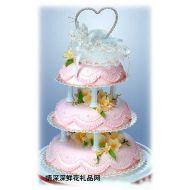 婚�Y蛋糕,�定三生