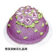 情人蛋糕,紫罗兰