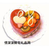 慕斯蛋糕,蓝梅慕斯(10寸)