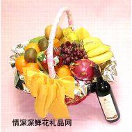 水果礼篮,明月千里寄相思