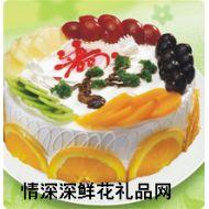 祝寿蛋糕,青松百年
