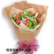 母亲节鲜花,一路上有您
