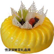 水果蛋糕,皇冠
