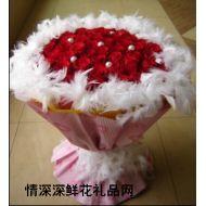 生日鲜花,粉恋