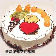生日蛋糕,童真