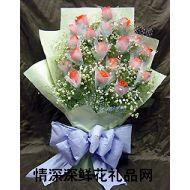 广州鲜花,粉色相思