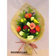 母亲节鲜花,彩色世界