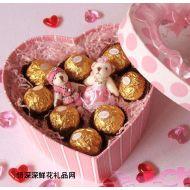 爱情鲜花,甜蜜祝福