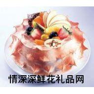 圣�Q蛋糕,�{色珊瑚礁