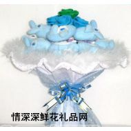 小熊花束,小兔花束/新娘手捧/情人�/生日�Y物