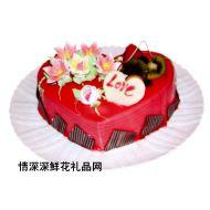 情人蛋糕,爱之物语(10寸)