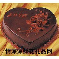巧克力蛋糕,love爱人