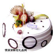 水果蛋糕,优美如梦(仅限送海南)