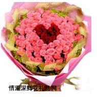求婚鲜花,爱人的心