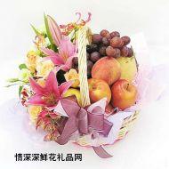 水果礼篮,快乐健康
