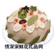 鲜奶蛋糕,翠羽丹花