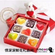 精美巧克力,Amovo巧克力 礼品B0209