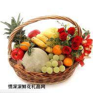 水果礼篮,花香果意