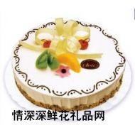 鲜奶蛋糕,幸福花儿