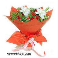 中秋节鲜花,追梦