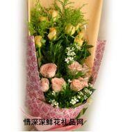 夫妻鲜花,相思玫瑰
