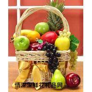 水果礼篮,如意风