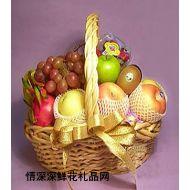 水果礼篮,思故乡