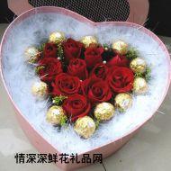 七夕节鲜花,玫瑰月色中的相思-七夕