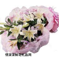 亲情鲜花,珍爱