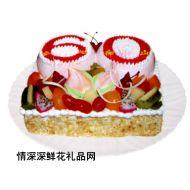 祝寿蛋糕,寿比南山