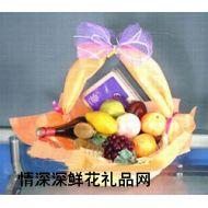 水果礼篮,平分秋色
