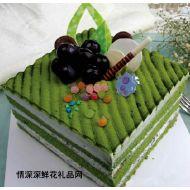 欧式蛋糕,绿茶蛋糕