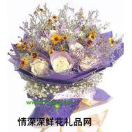 广州鲜花,爱的路上