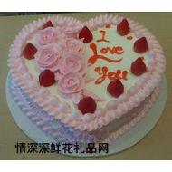 情人蛋糕,心间