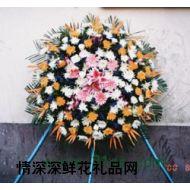 哀思鲜花,葬礼花圈2