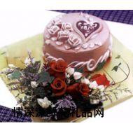 艺术蛋糕,迷情(8寸)