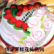 水果蛋糕,快乐生日