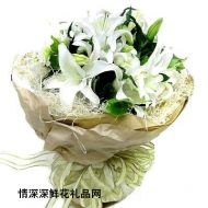 广州鲜花,长相依